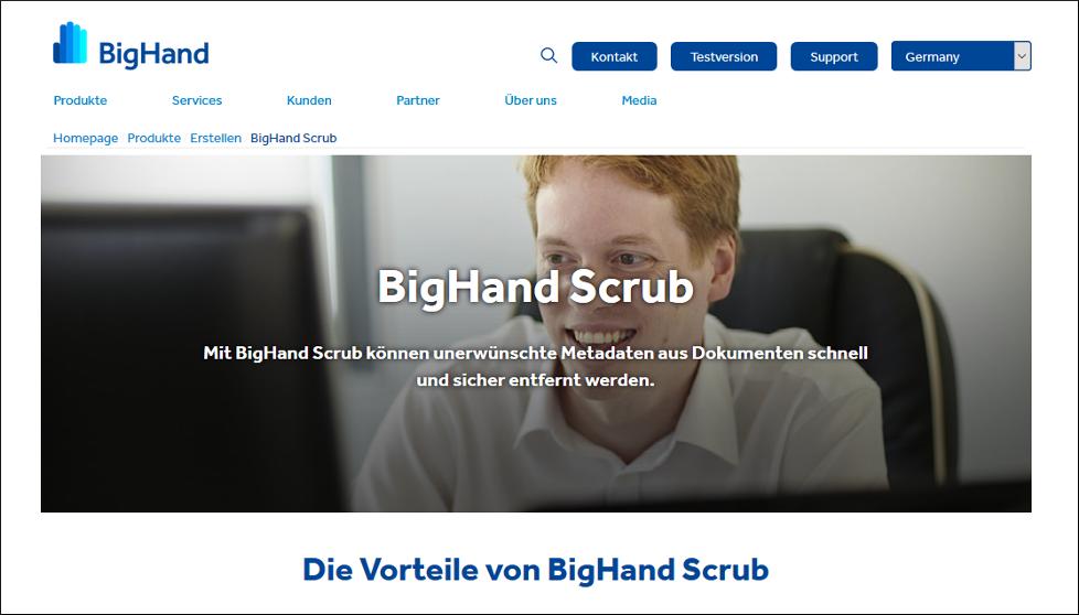 bighand scrub
